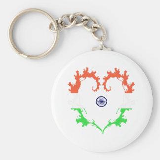 heart-india key ring