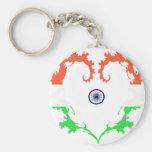 heart-india keychain