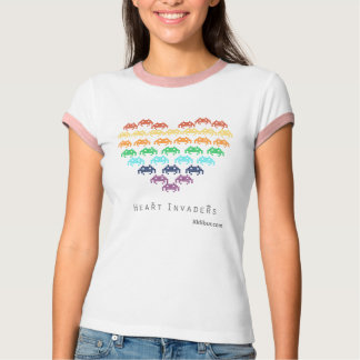 Heart Invaders T-Shirt