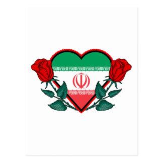 Heart Iran Postcard
