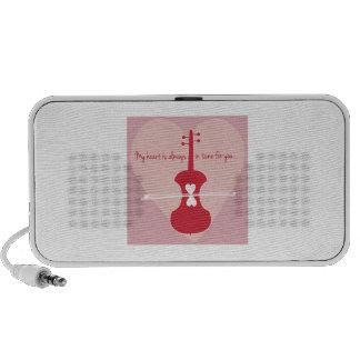 Heart Is In Tune iPod Speakers