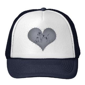 Heart Jack Russel Cap