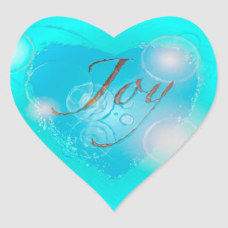 Heart Joy Stickers