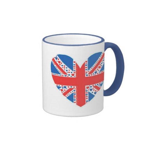 Heart Jubilee Ringer Mug