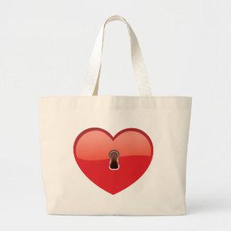 Heart Jumbo Tote Bag