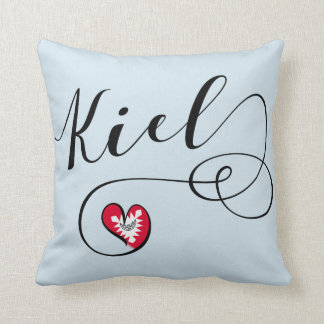 Heart Kiel Pillow, Germany Cushion