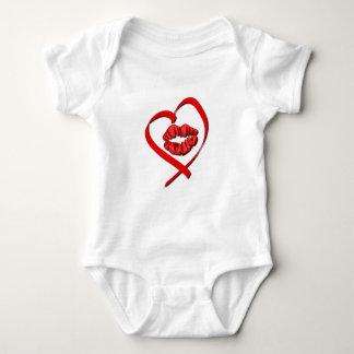 Heart Kiss Baby Shirt