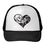 """Heart Kiss"" by Skinderella - Trucker Hat"