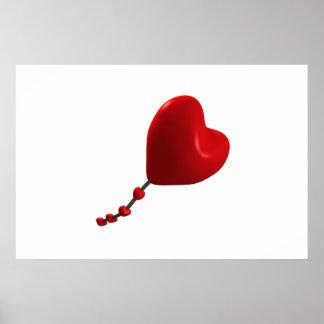 Heart Kite Poster
