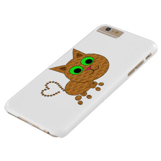 Heart Kitten Barely There iPhone 6 Plus Case