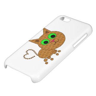 Heart Kitten Cover For iPhone 5C