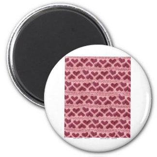 heart knitwear magnet