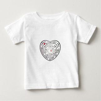 HEART LABYRINTH BABY T-Shirt