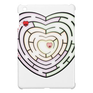 HEART LABYRINTH iPad MINI CASE