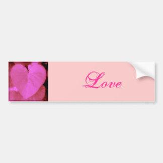 Heart Leaf Bumper Sticker