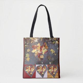 Heart Leaf Group 1 Tote Bag