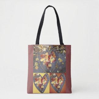 Heart Leaf Group 2 Tote Bag