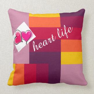 heart life cushion