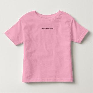 heart like a mirror toddler T-Shirt