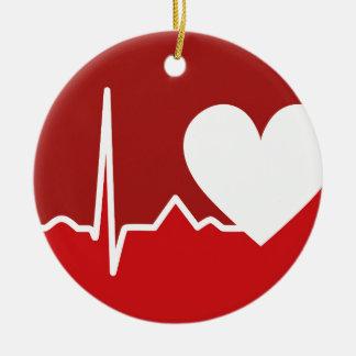 Heart Logo Christmas Ornament