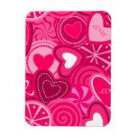 Heart Lollipops Design Magnet Flexible Magnets