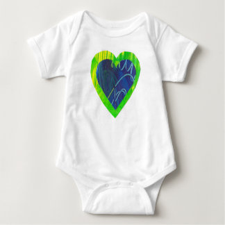 Heart Love Baby Bodysuit Infant Shirt