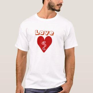 Heart, Love Cotton Spandex Top