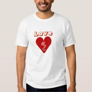 Heart, Love Cotton Spandex Top T Shirt