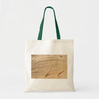 heart love custom personalize Anniversaries Budget Tote Bag