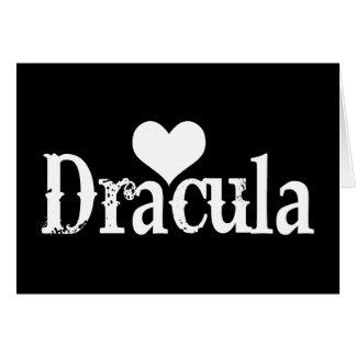 Heart (love) Dracula Card