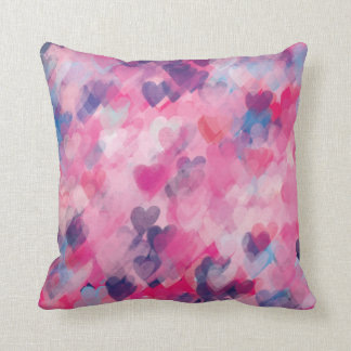Heart Love Pattern Stylish Whimsy Chic Cushion