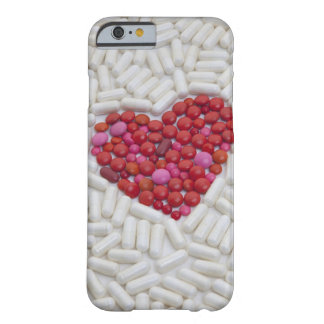 Heart made of red pills barely there iPhone 6 case
