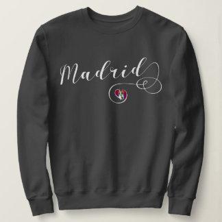 Heart Madrid Sweatshirt, Spanish, Spain Sweatshirt