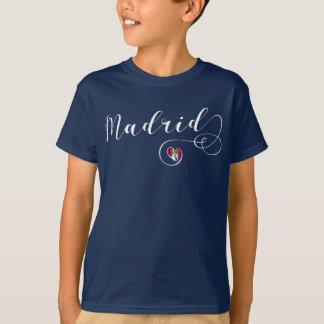 Heart Madrid Tee Shirt, Spanish