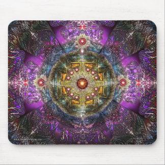Heart Mandala Mouse Mat