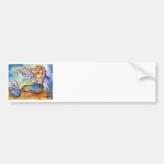 Heart Mermaid Bumper Sticker