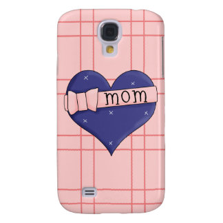 Heart Mom Hard Shell Case for iPhone 3G 3GS Samsung Galaxy S4 Cases