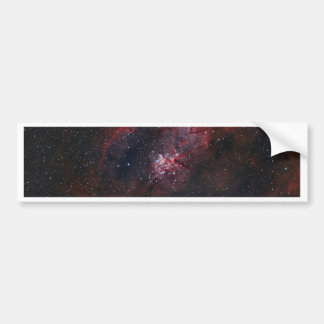 Heart Nebula Bumper Sticker