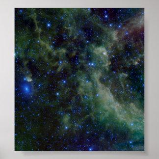 Heart Nebula IC 1805 Poster