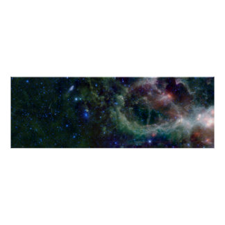 Heart Nebula IC 1805 Poster