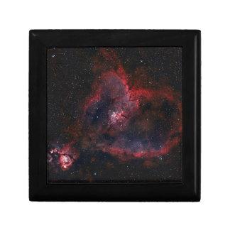 Heart Nebula Small Square Gift Box