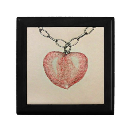 Heart Necklace Gift Boxes