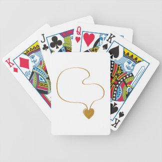 Heart Necklace Poker Deck