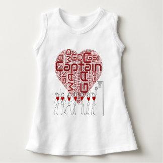 Heart Netball Baby Dress
