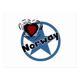 Heart Norway Postcard