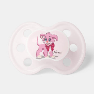 Heart Nose Pink Puppy Cartoon Dummy