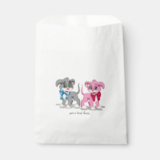 Heart Nose Puppies Cartoon Favour Bags