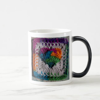 Heart of a Hippie Morphing Mug