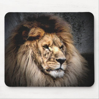 heart of a lion mouse mat