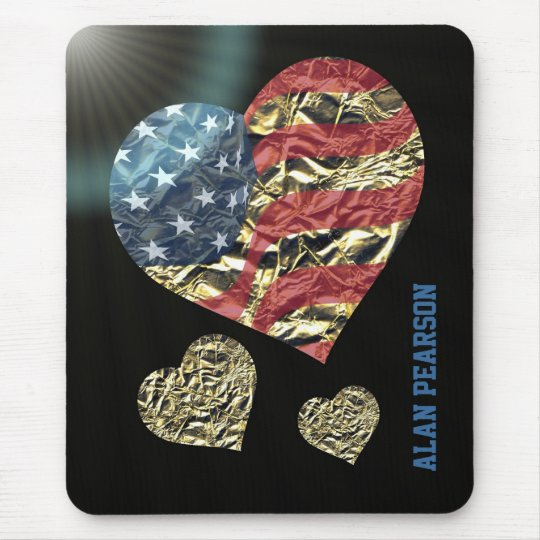 'Heart of America' Mouse Mat